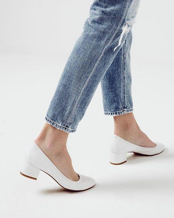 zapatos blancos como complementos de otoño 2016