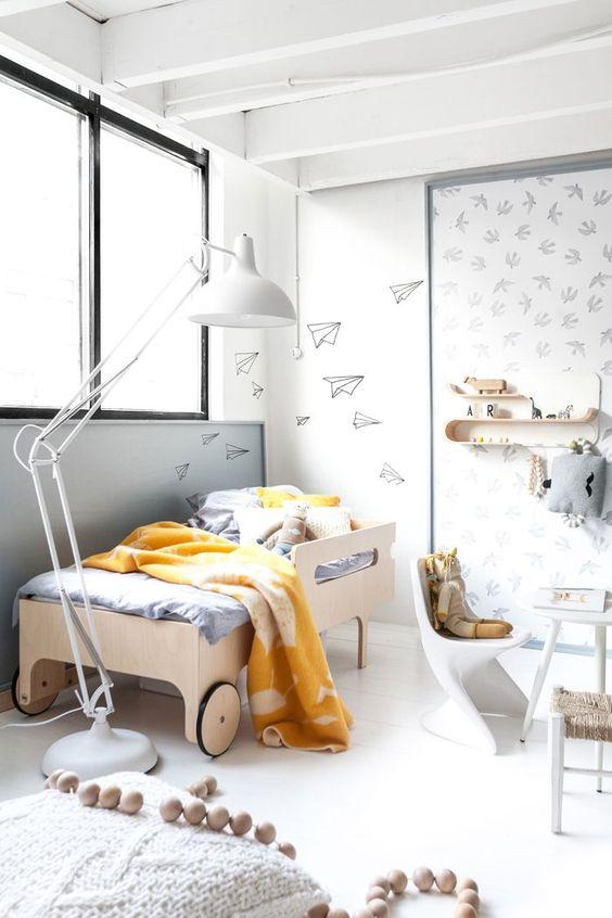 tipos de camas para niños. Estructura infantil