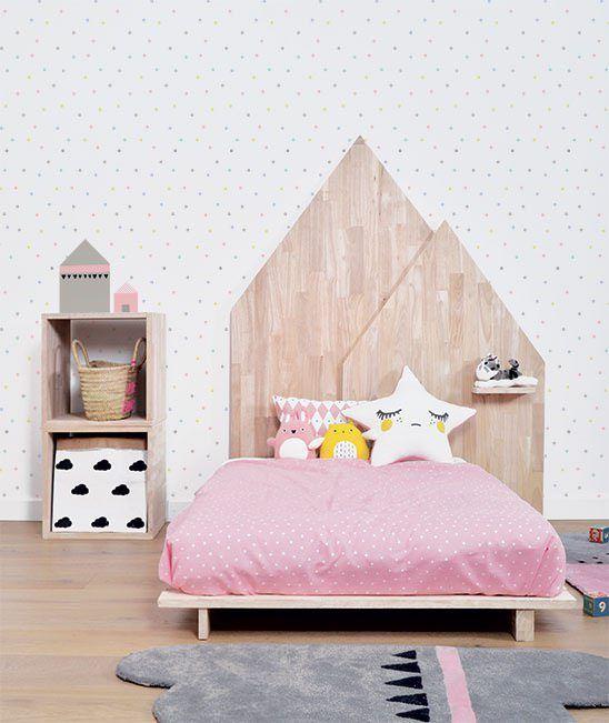 tipos de camas para niños. Cama de altura baja