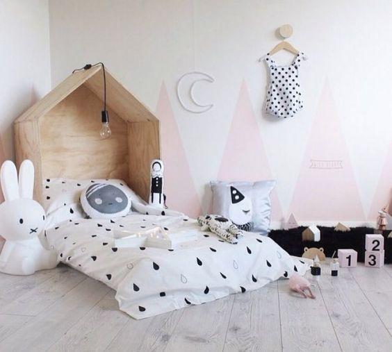 tipos de camas para niños. Camas bajas