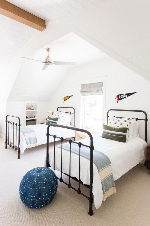 tipos de camas para niños. Habitación compartida