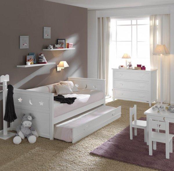 tipos de camas para niños. Cama nido