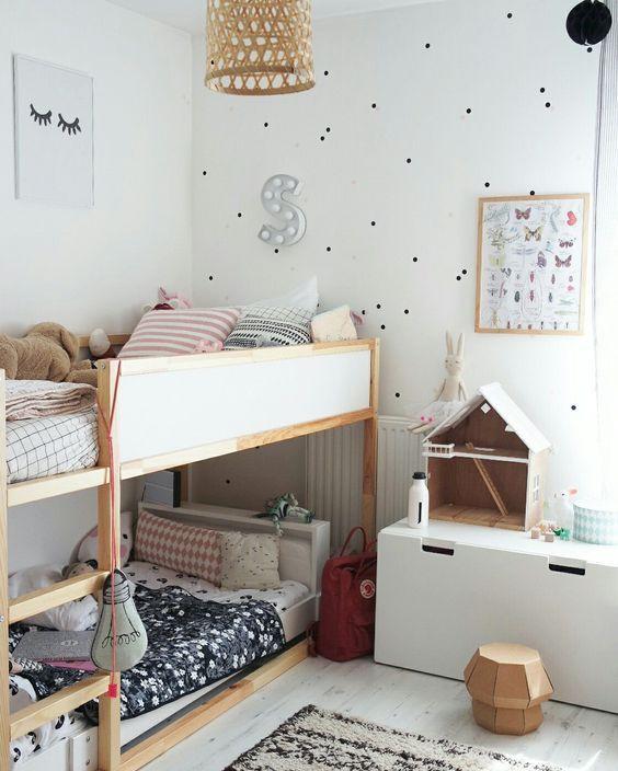 tipos de camas para niños. Litera reversible de ikea