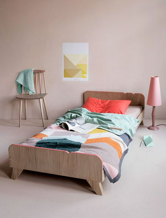 tipos de camas para niños. Cama de larga duración