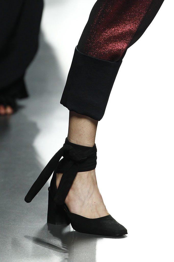 zapato lazada al tobillo complementos de otoño