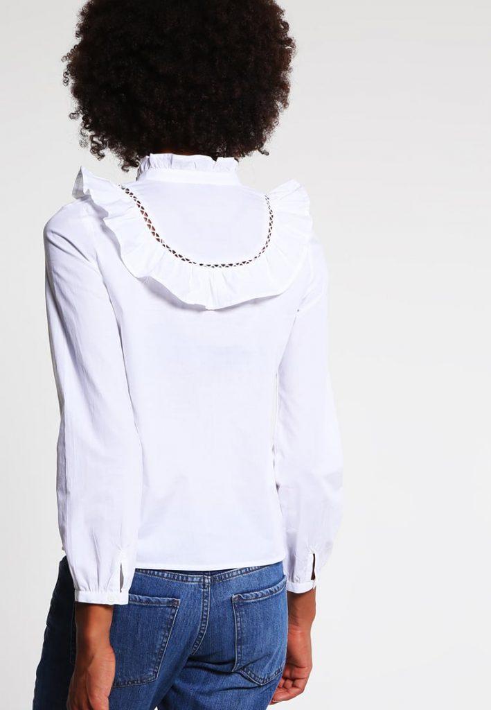 camisa especial blanca de topshop