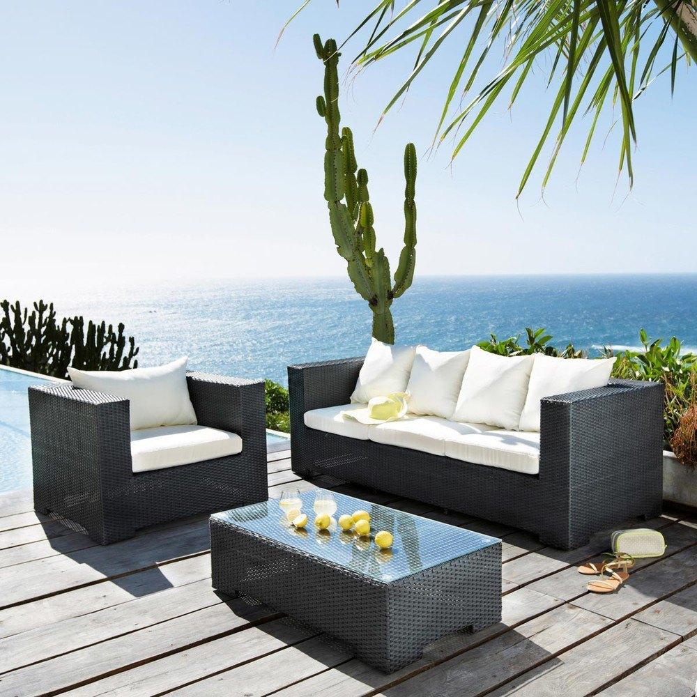 decoración para terrazas de verano con conjuntos