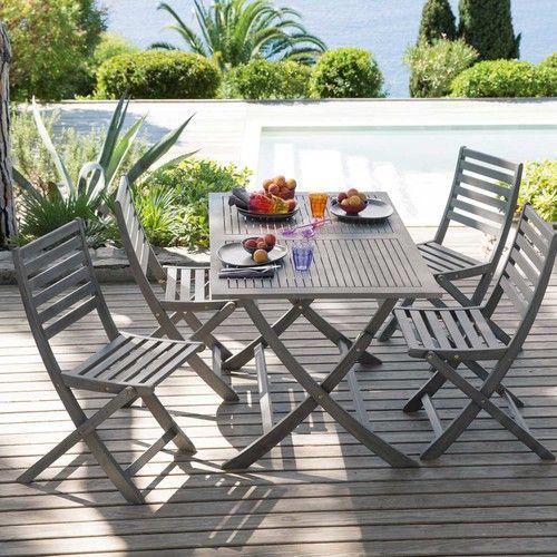 decoración para terrazas de verano con elementos plegables