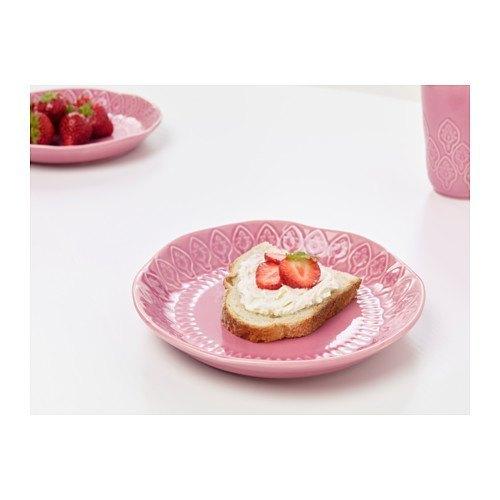 decoración de mesas de verano en rosa