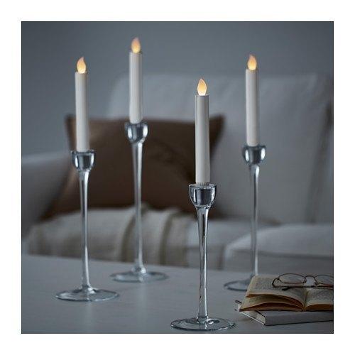 decoración de mesas de verano con velas LED