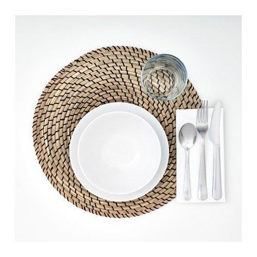 decoración de mesas de verano con manteles individuales