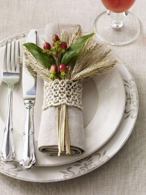 mesa bonita en navidad con vajilla