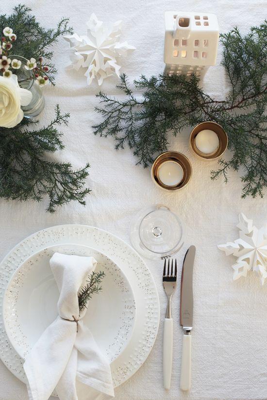 mesa bonita en navidad que marque la diferencia