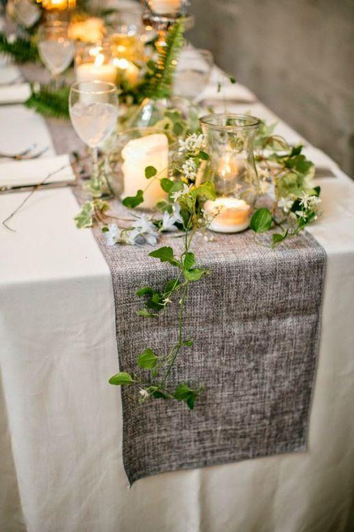 mesa bonita en navidad con tejidos especiales