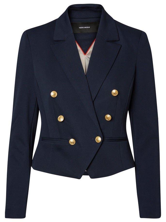 blazer navy de stileo