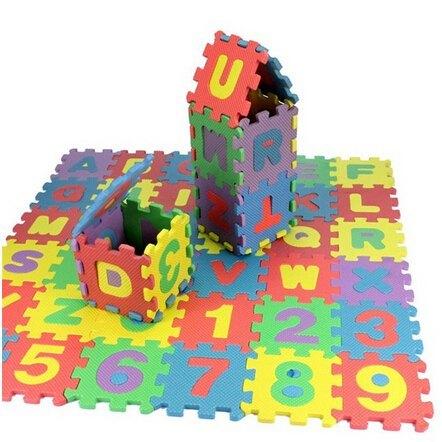 36-Piezas-Letras-Y-Números-Suelo-De-Espuma-Estera-Rompecabezas-Juguetes-Educativos-Para-Niños-rompecabezas-juguetes