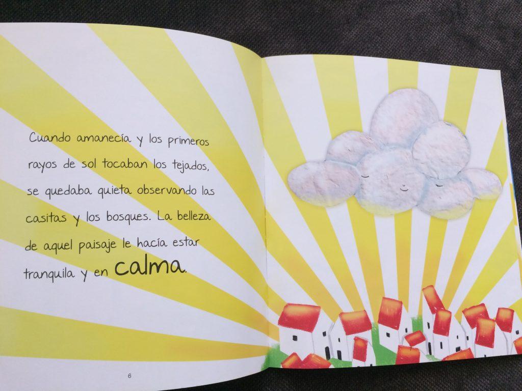 un cuento para trabajar las emociones con niños. calma