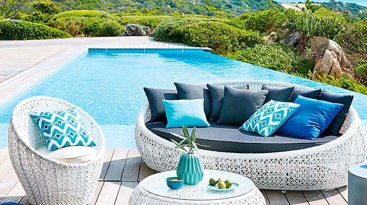ideas de decoración para terrazas de verano modernas