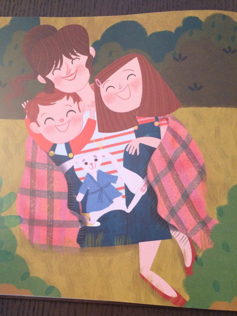 un cuento sobre la maternidad imperfecta pero feliz. Mamá tiene defectos pero es genial