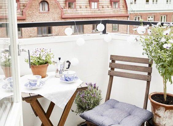 ideas para decorar balcones pequeños y sacarles mucho partido