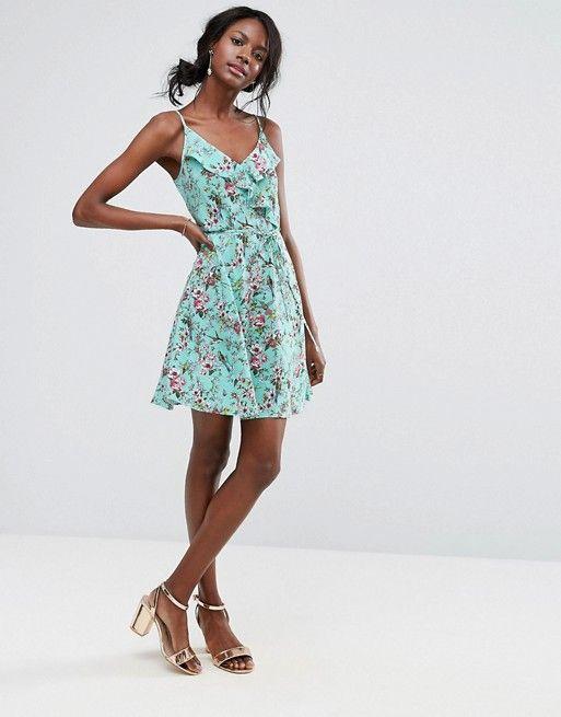 wrap dress veraniego
