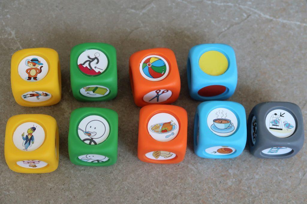 juego para trabajar el lenguaje con los más pequeños